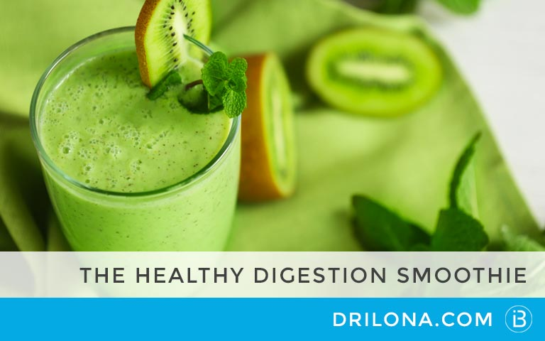 The Healthy Digestion Smoothie