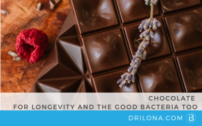 CHOCOLATE FOR LONGEVITY and THE GOOD BACTERIA TOO